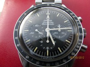 First Watch Worn on The Moon Omega Speedmaster Moonwatch