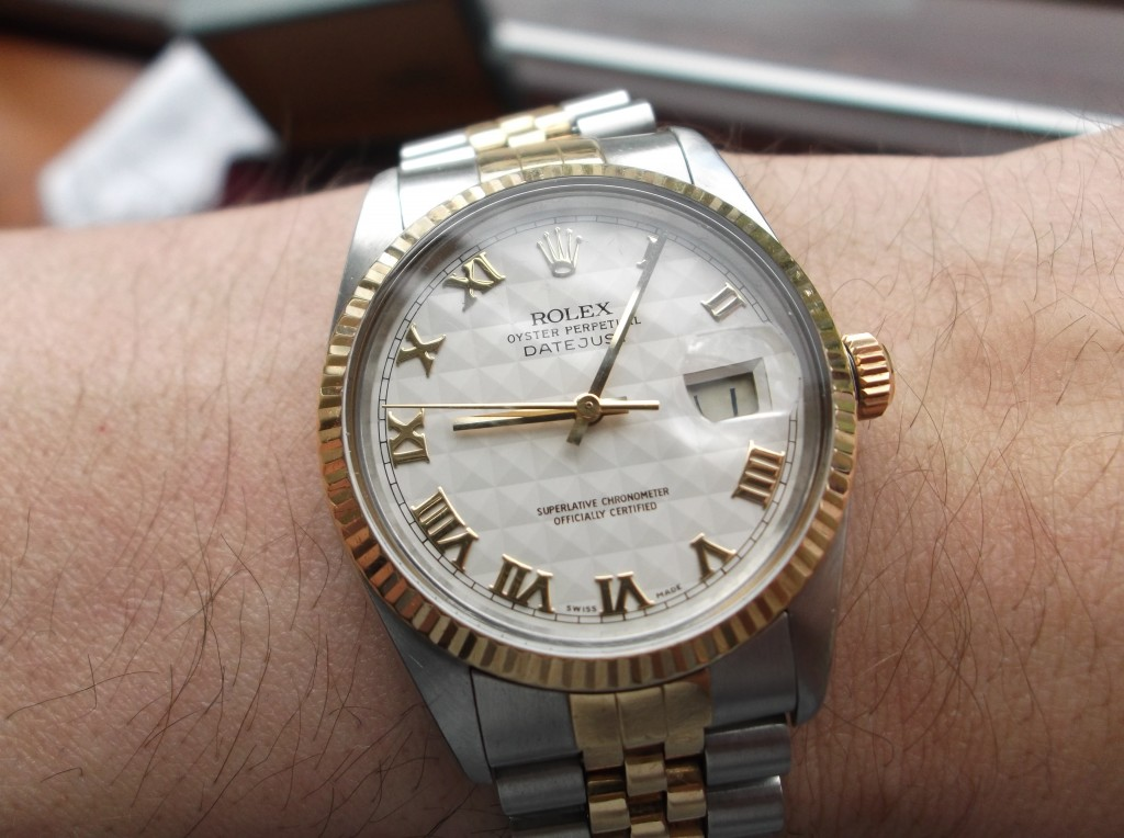 The Rolex Datejust 16013 Classic Dress Watch