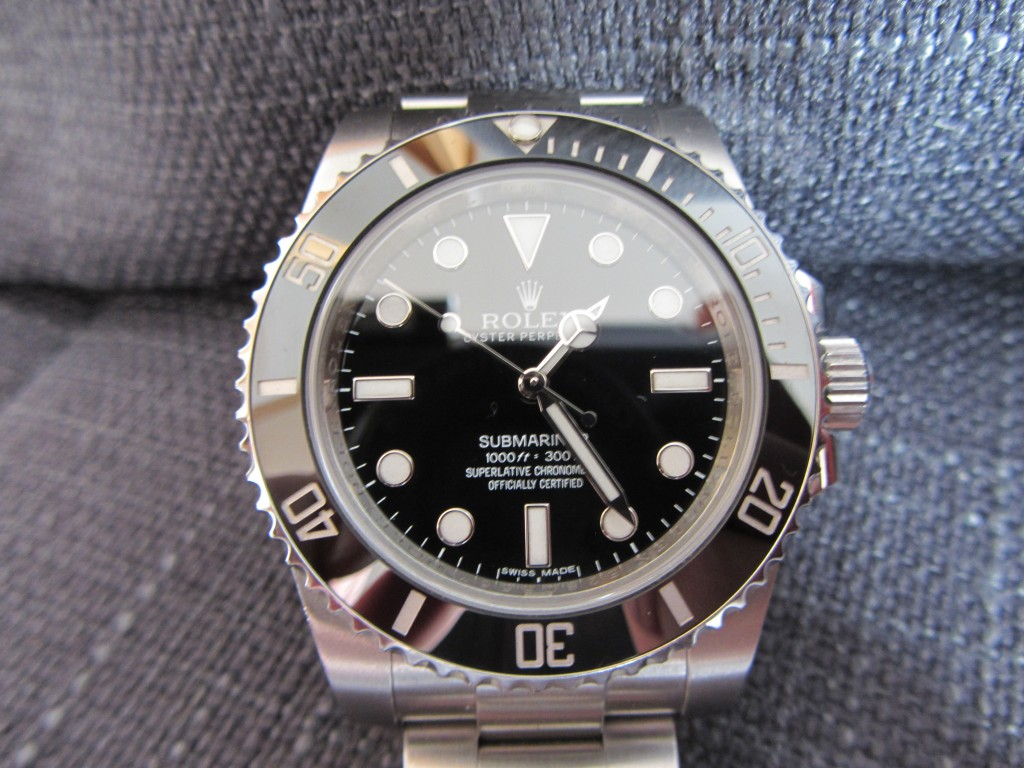 The Iconic Rolex Submariner theme 114060 !