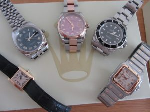 a small His & Hers watch Collection