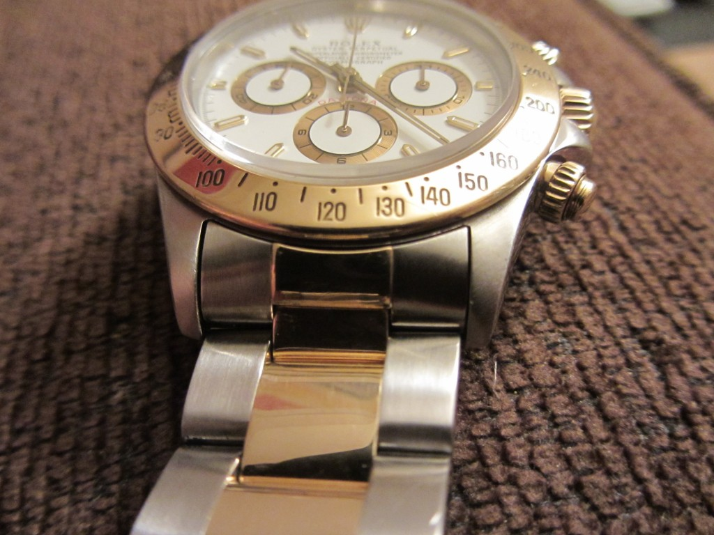 Staying with the Daytona Theme Rolex zenith Daytona 16523 Bi Metal