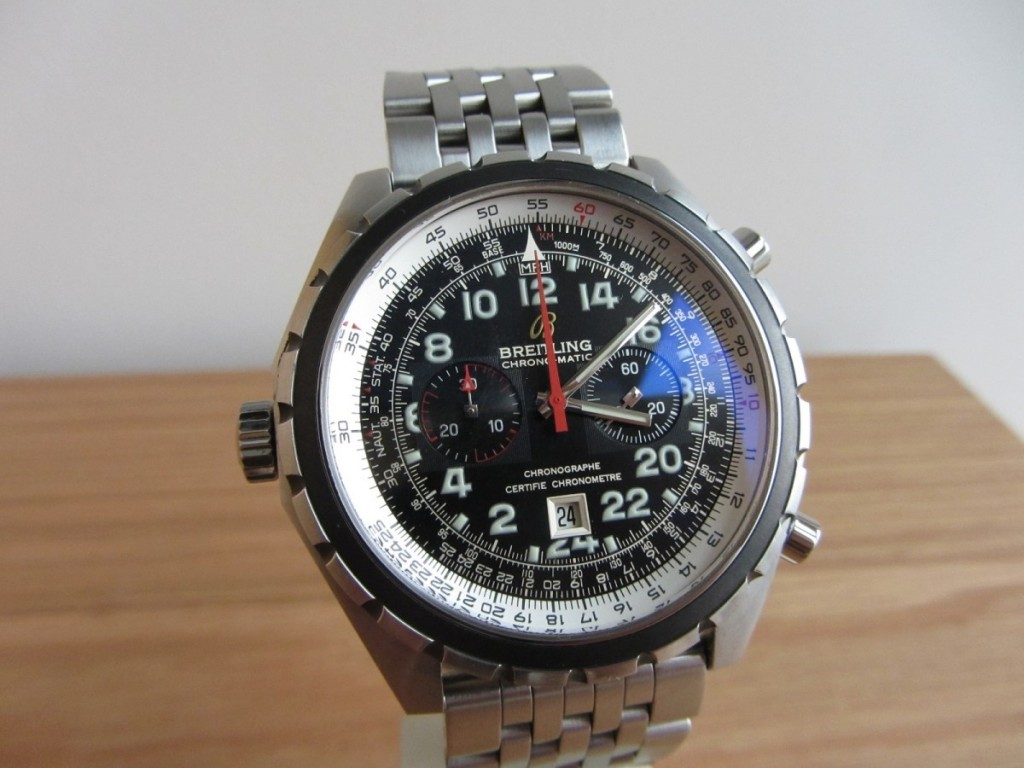 Here is Breitling Navitimer 24 Chronomatic 24 hour.