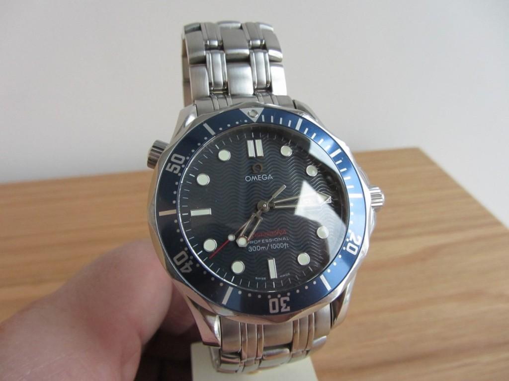 A James bond watch Aka Omega Seamaster Pro 22218000 Quartz