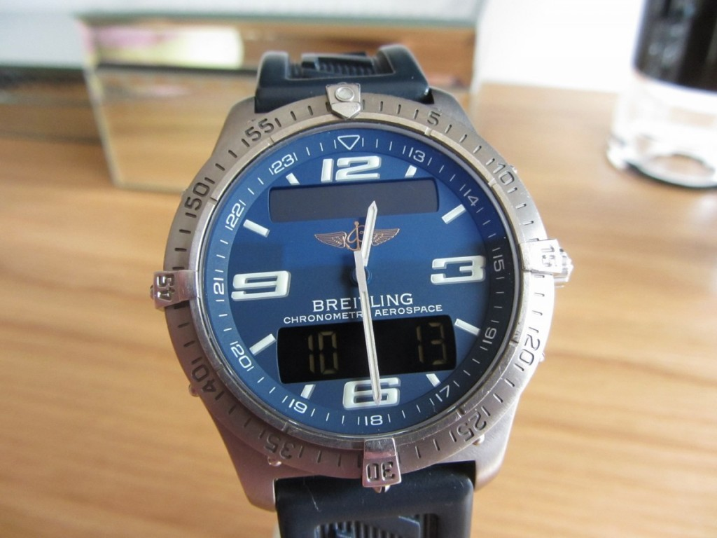 The Breitling Aerospace Repetition Minutes Ref E79362