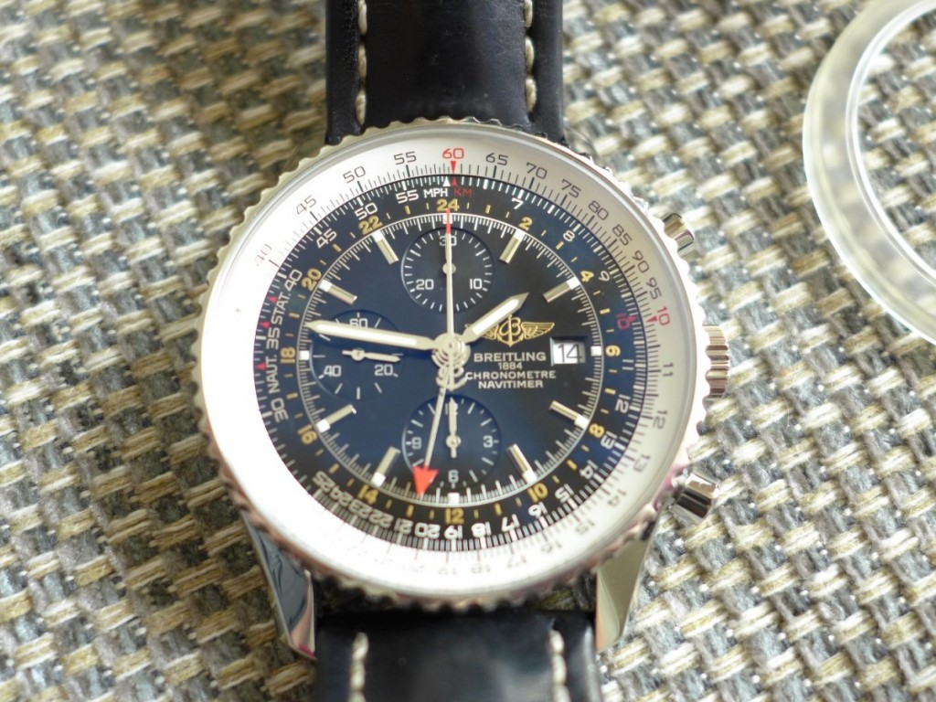 A Breitling Navitimer World GMT Ref: A23422