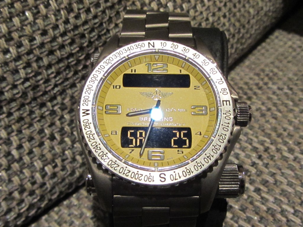 The mighty Iconic Breitling Emergency