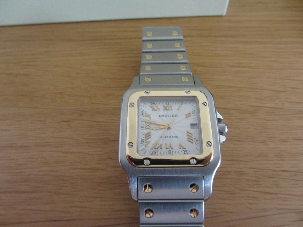 One for the Ladies Cartier Santos Bi-Metal