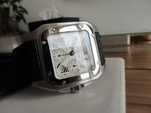 One of the popular Cartier range, Big Cartier Santos XL chronograph
