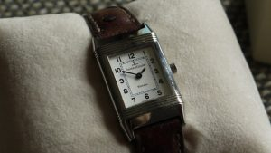 A Ladies Stainless steel Jlc Reverso