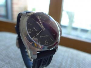 a Panerai Luminor 1950 Gmt 3 day Ref Pam 00320