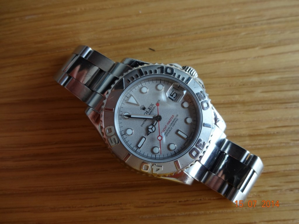 One for ladies Rolex Yacht master 168622 Mid size