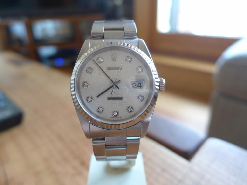Rolex Datejust 16234 Diamond Dot Jubilee Dial