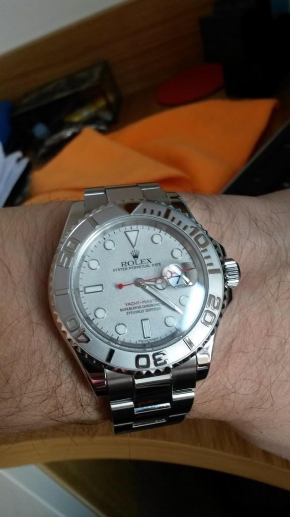 A Men's Rolex Yatchmaster ref: 16622