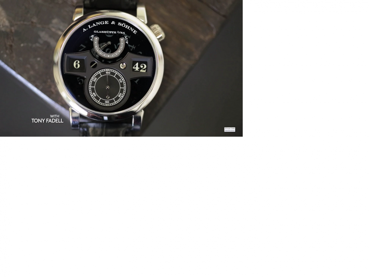 Talking Watches with Tony Fadell By Hodinkee