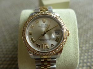The Rolex Datejust 178383 Mid Size 18k Gold & Steel
