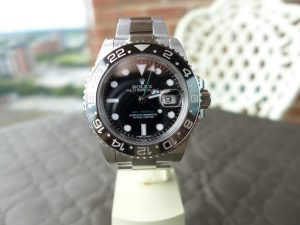 The Rolex GmtMaster 2 116710LN Stainless Steel