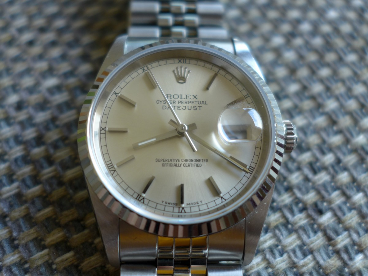 Rolex Oyster Perpetual Datejust 16234 The Watch