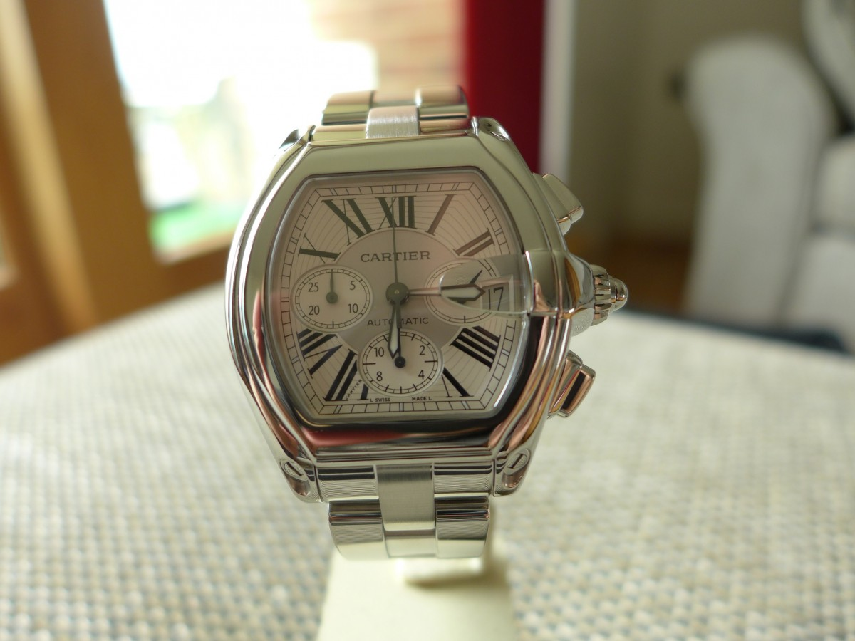 Cartier Roadster Chronograph Ref: W62019X6