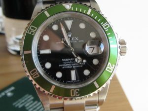 The Rolex Submariner Green 16610LV