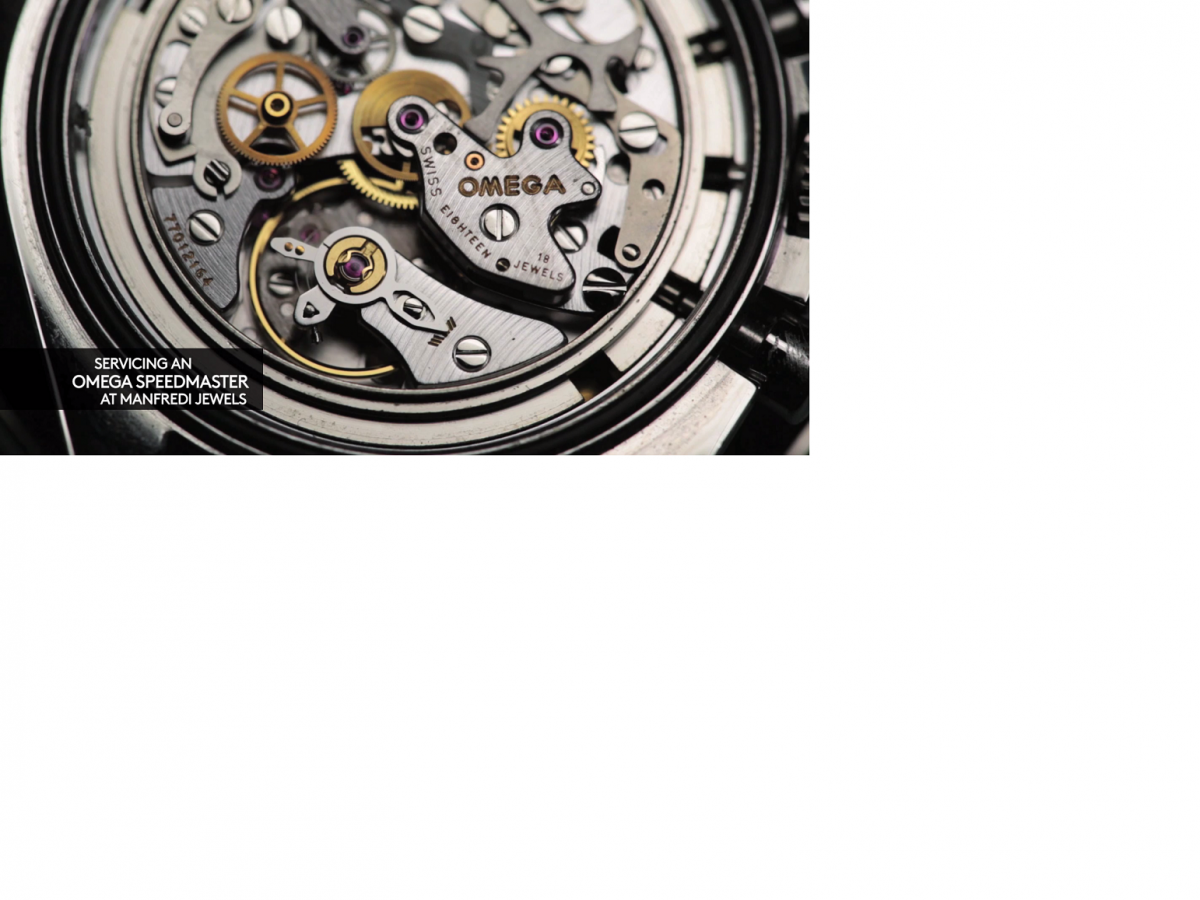 How to Service The 234- Component Cal 1861 SpeedMaster