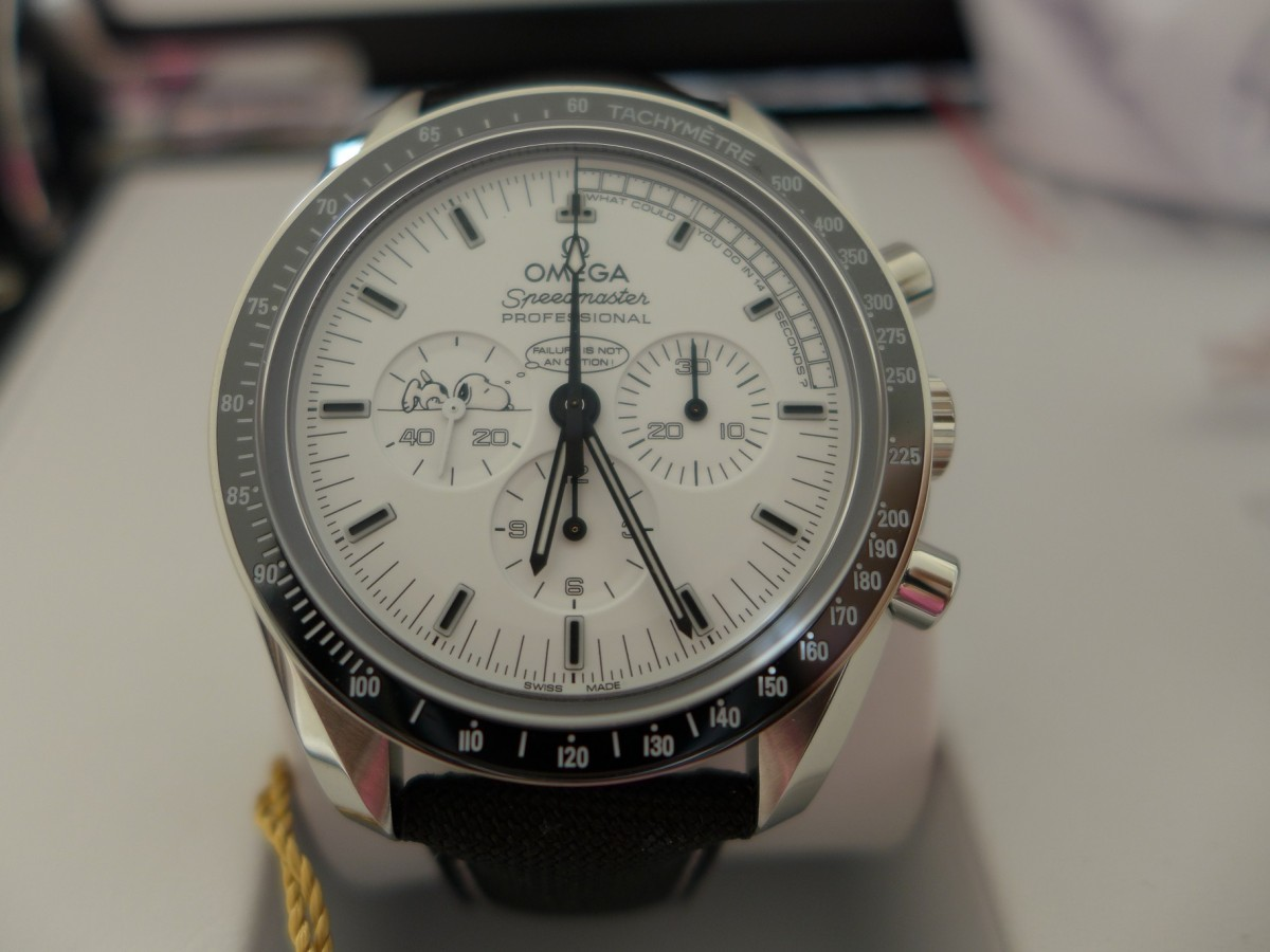"The Omega Speedmaster Moonwatch ""AKA Snoopy"""