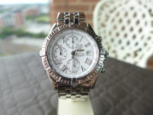 Breitling Crosswind A13355 Stainless Steel Chronograph