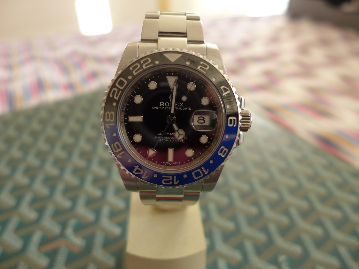 Rolex Gmt Master 2 Ref 116710BLNR Aka Batman