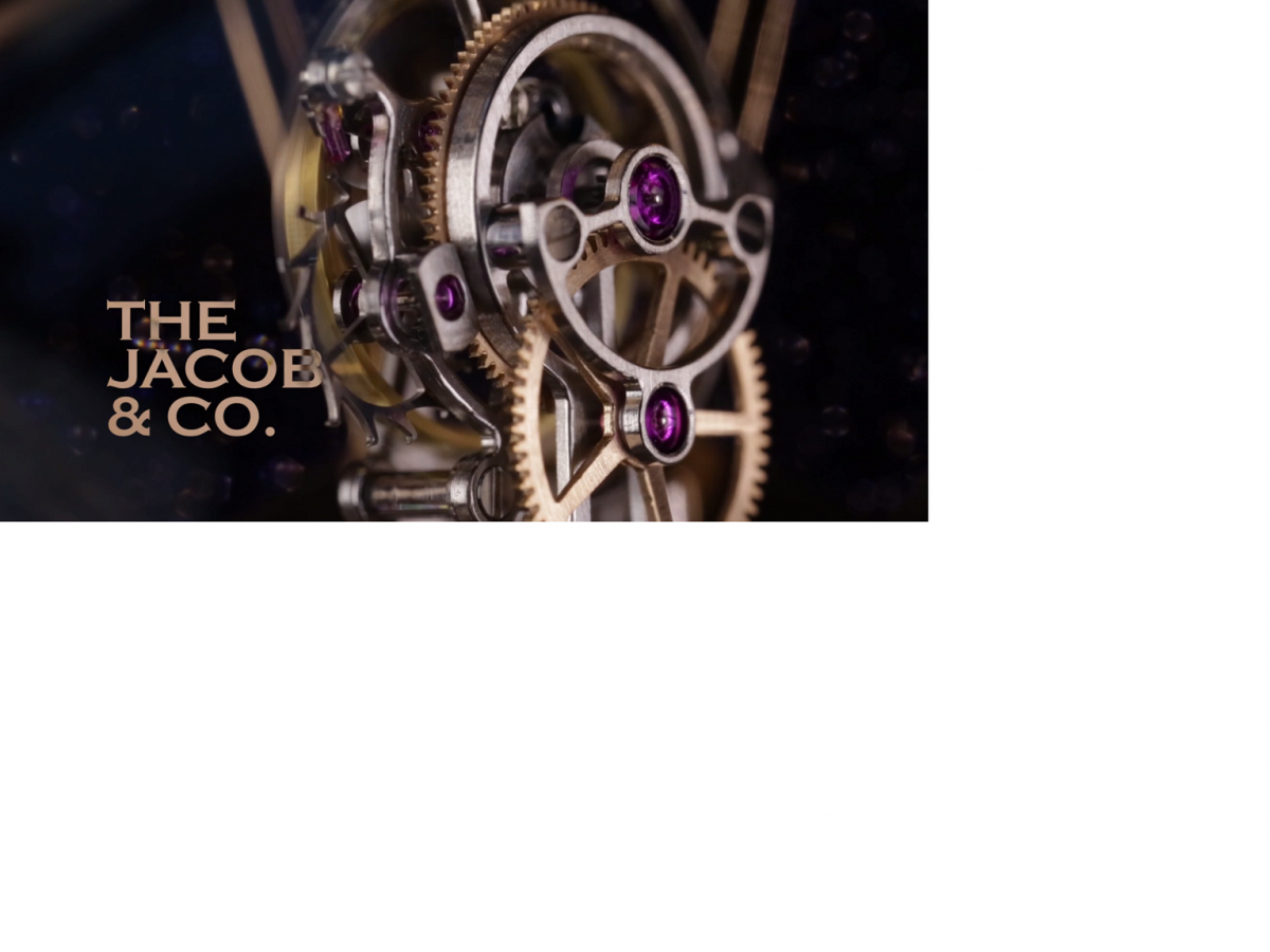 Tourbillon of Tourbillon Watches Jacob & Co