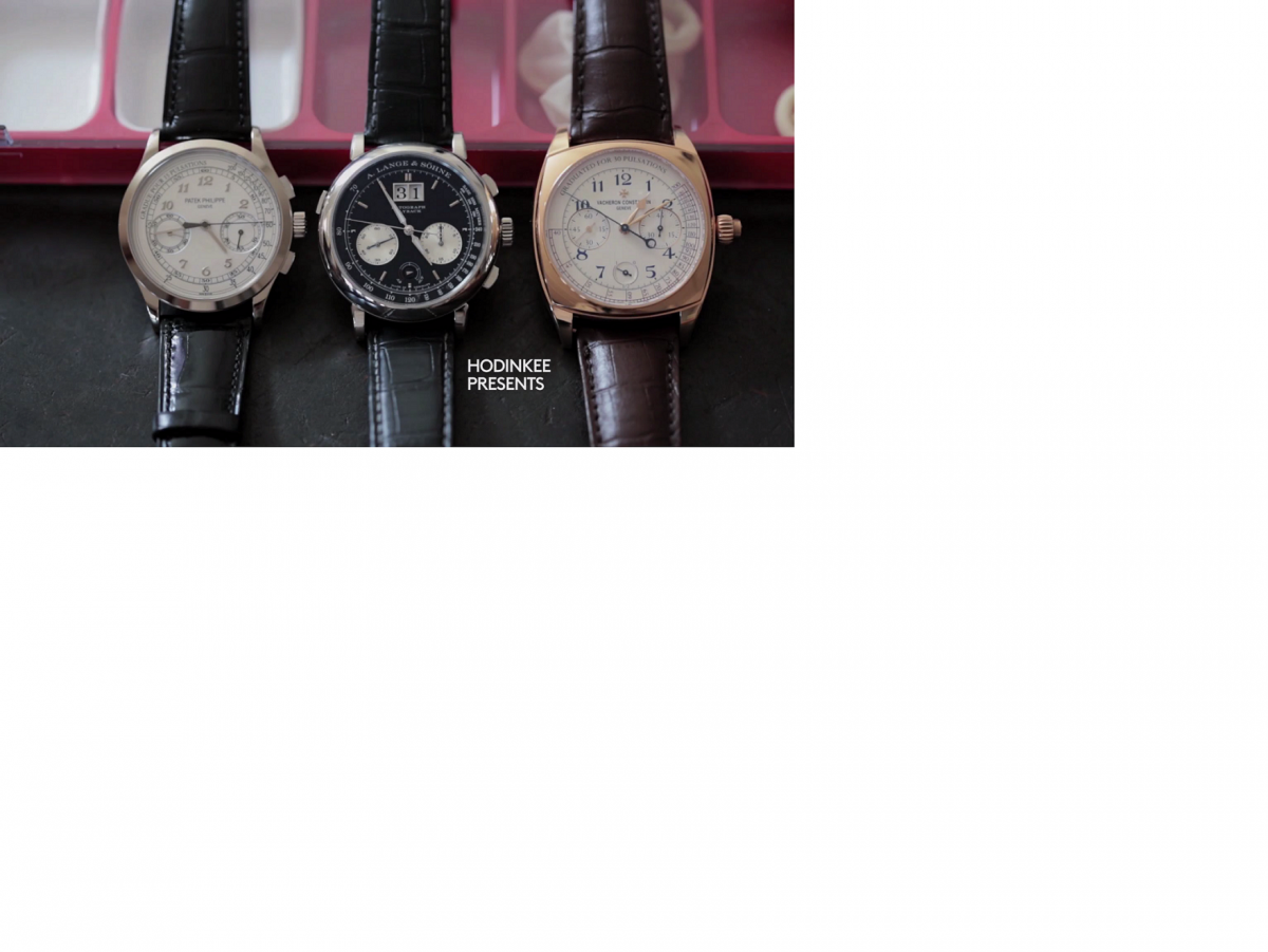 Three of the best Manually Wound Grail Watches