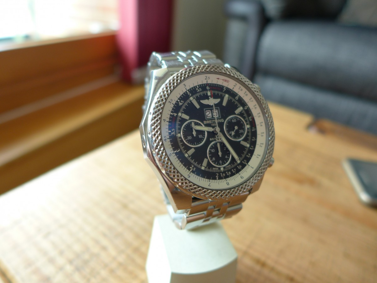 Breitling Bentley Motor 6.75 Speed A44362