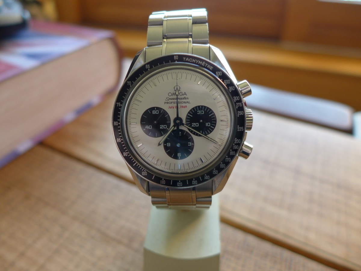 """Speedmaster Tuesday"" Omega Speedmaster Moonwatch 3569.31.00"