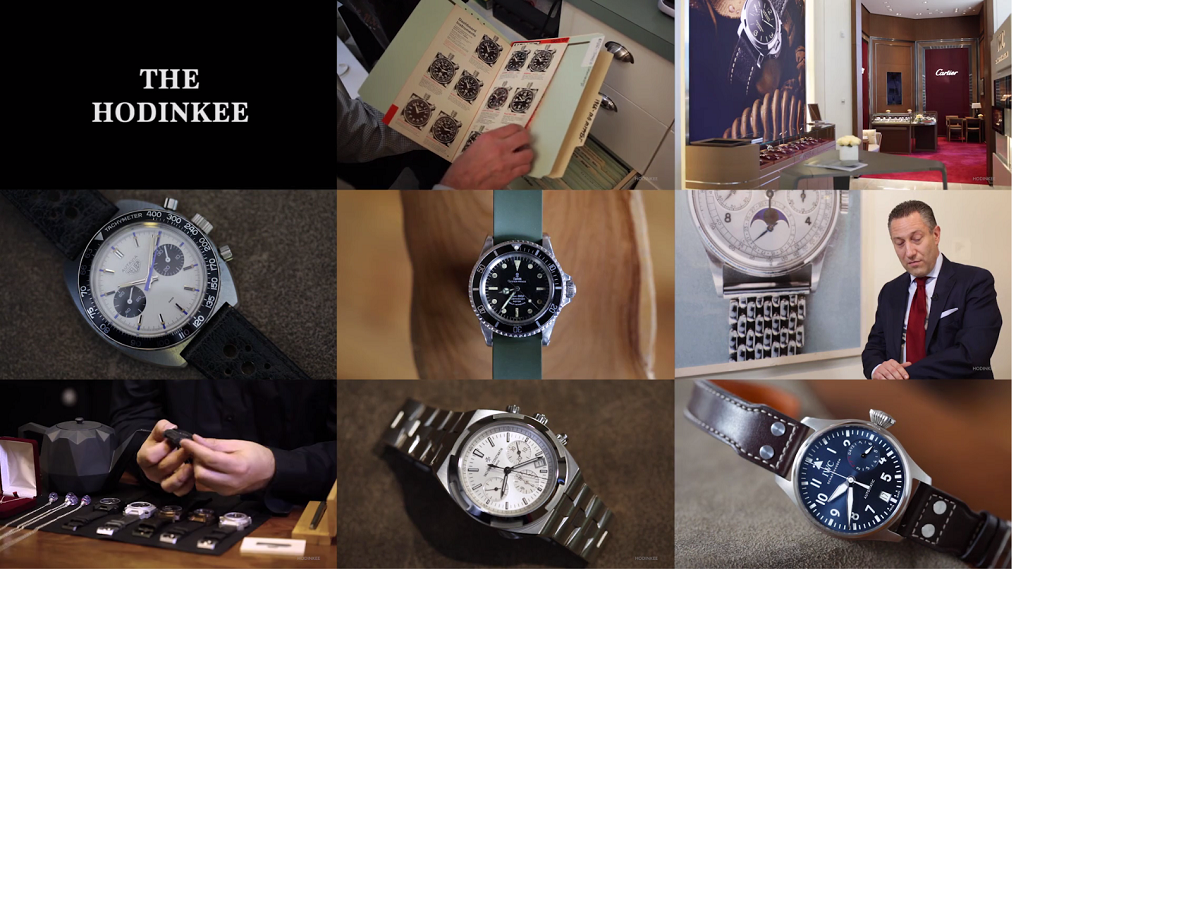 Hodinkee Best of 2016 Review