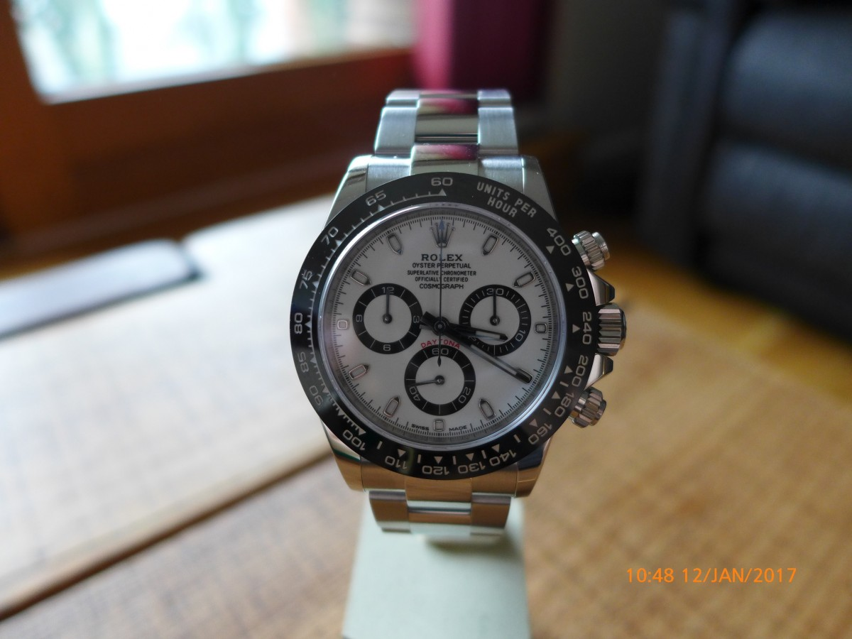 Hands On With Rolex Daytona Cosmograph 116500LN Panda Dial