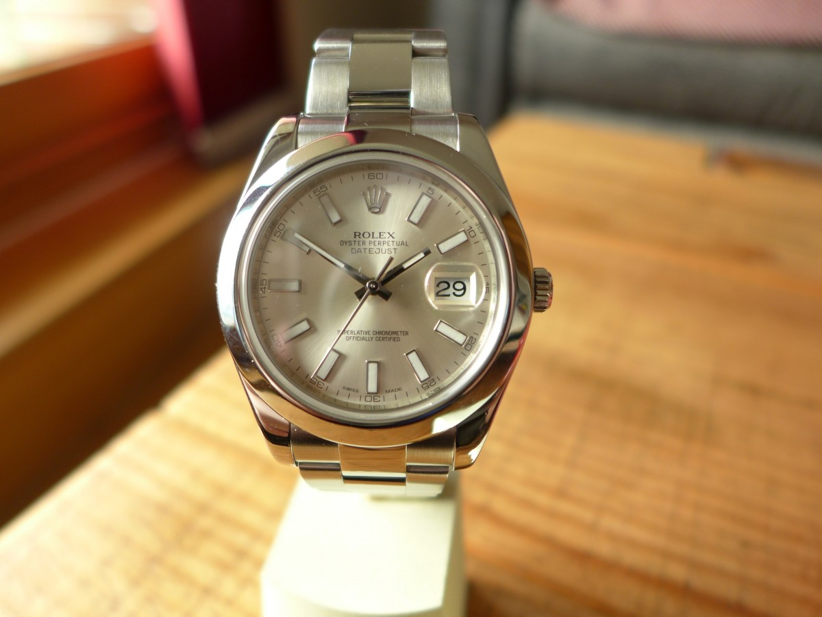 Hands on With Rolex Datejust II 116300