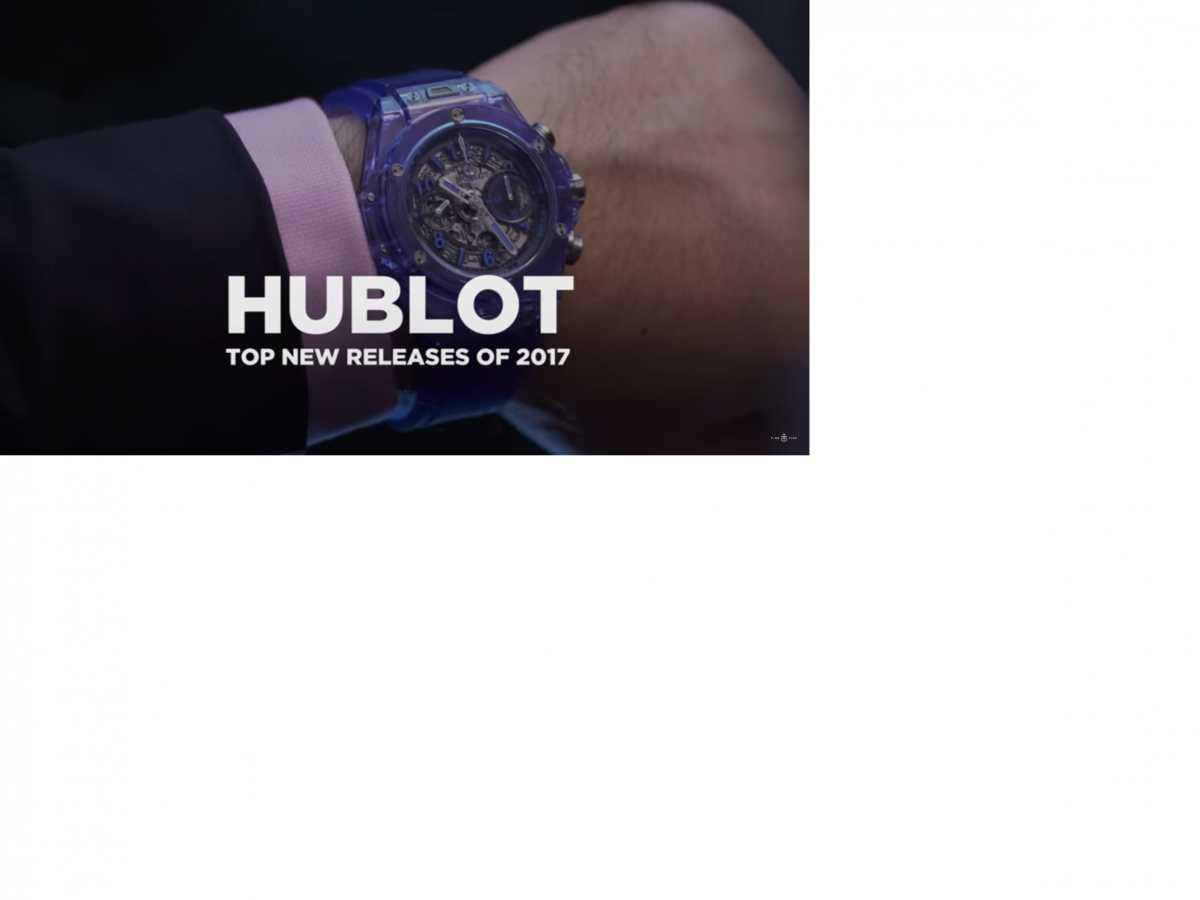 5 Hublot that are outstanding Basel 2017