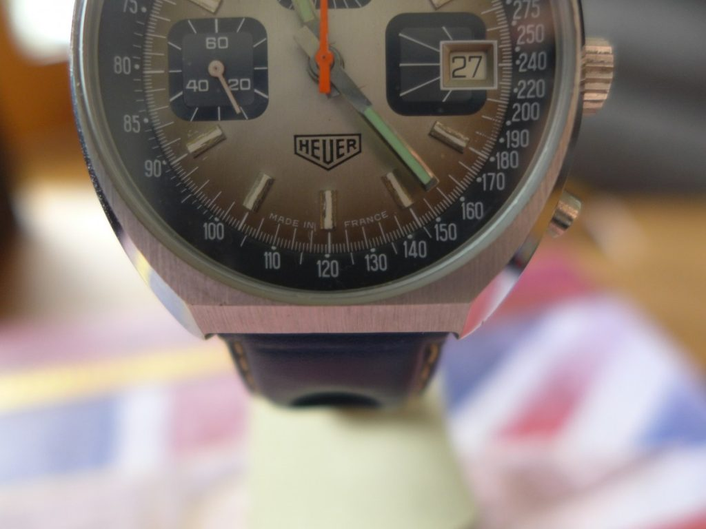 Heuer 1614 made in france the watch collector leeds for Watches of france