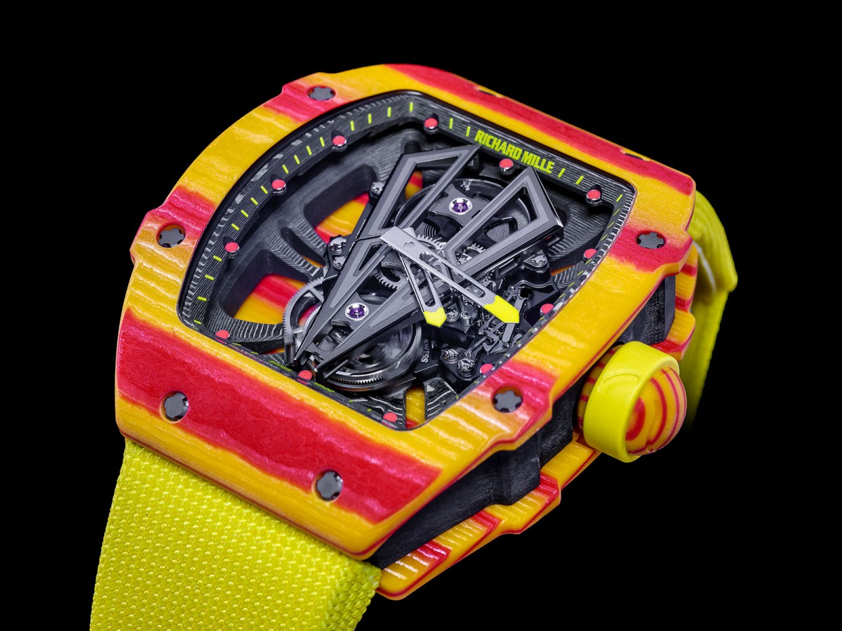 "Richard Mille Unveils 4th ""Rafael Nadal"" Tourbillon"