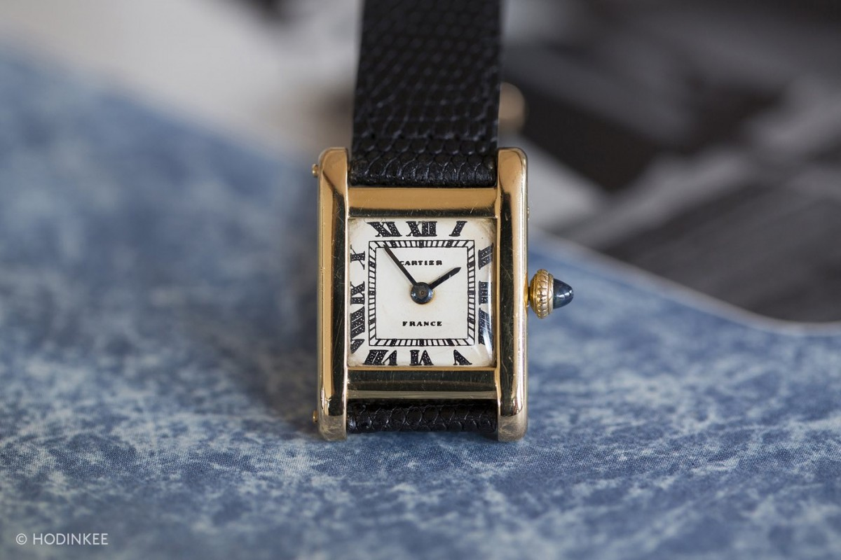 Cartier Tank Sells For $379,500 at Auction