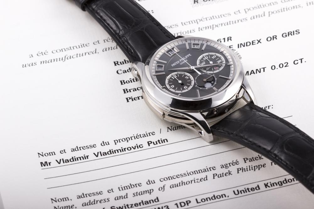 Vladimir Putin's Patek Philippe 5208P For Auction