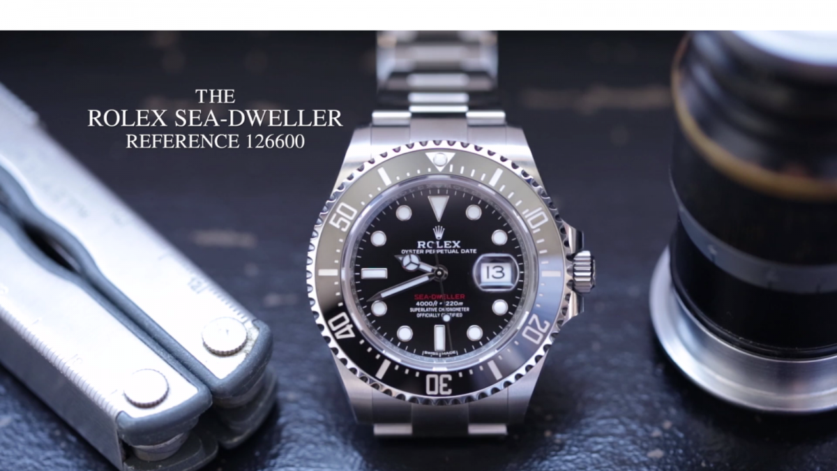 The Rolex Sea Dweller 126600 By Hodinkee