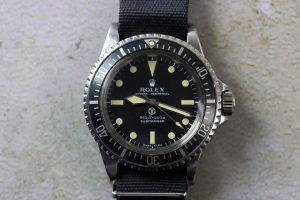 Rolex Military-Submariner 5513
