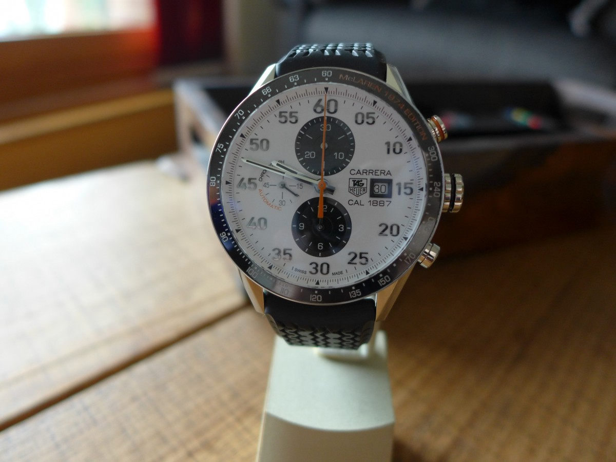 Tag Heuer Carrera Mclaren 1974 Edition CAR2A12