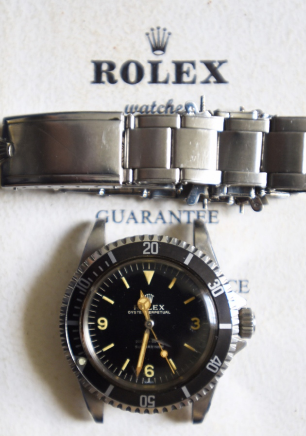 Rolex Submariner explorer