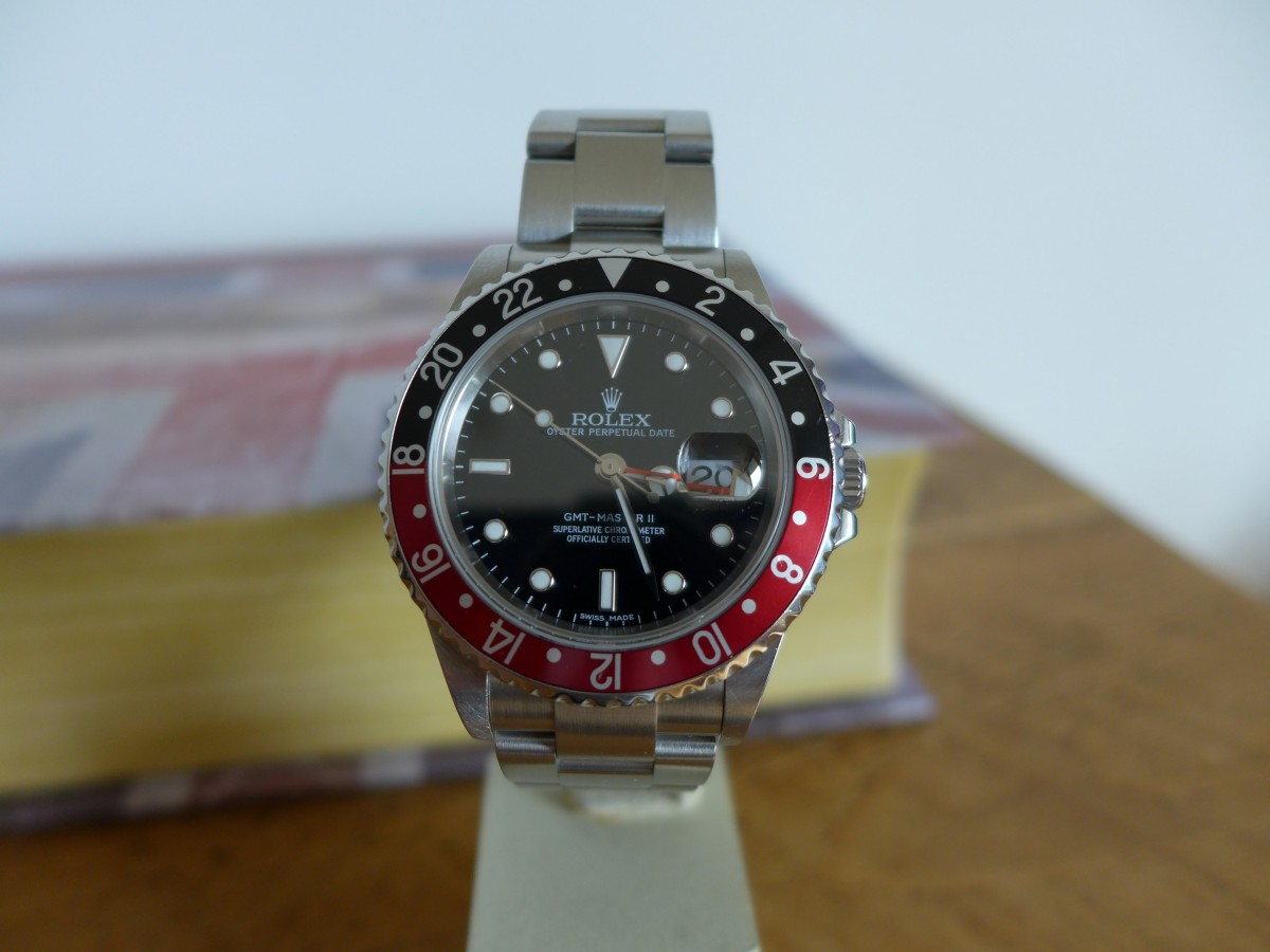 """Rolex Gmtmaster II 16710 """"Stick Dial"""" And Little History"""