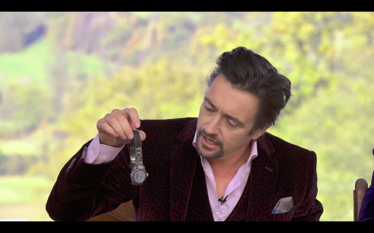 Watch Spotting: Richard Hammond Sea Dweller