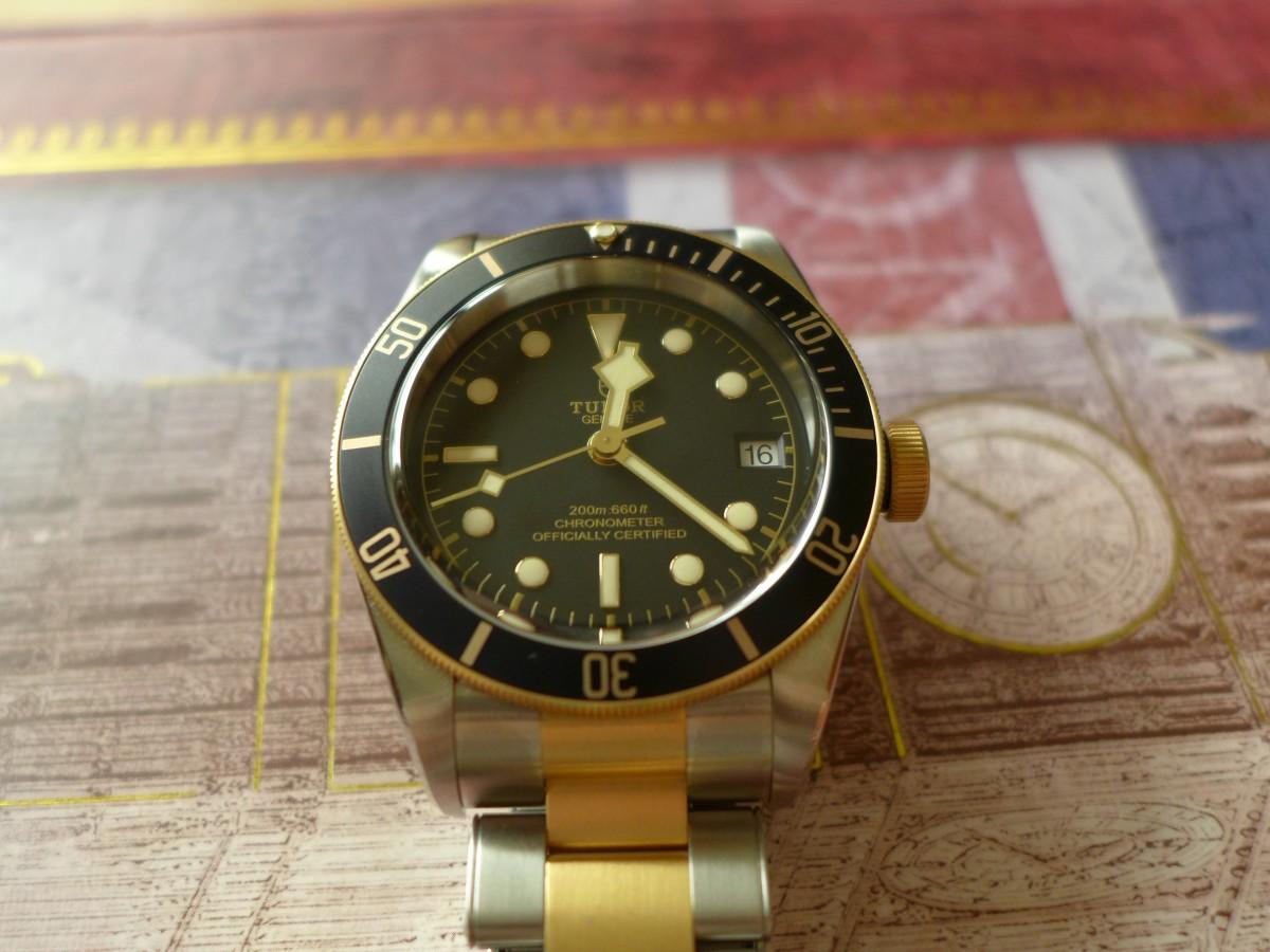 Hands on Tudor black bay Heritage S&G M79733N-0002