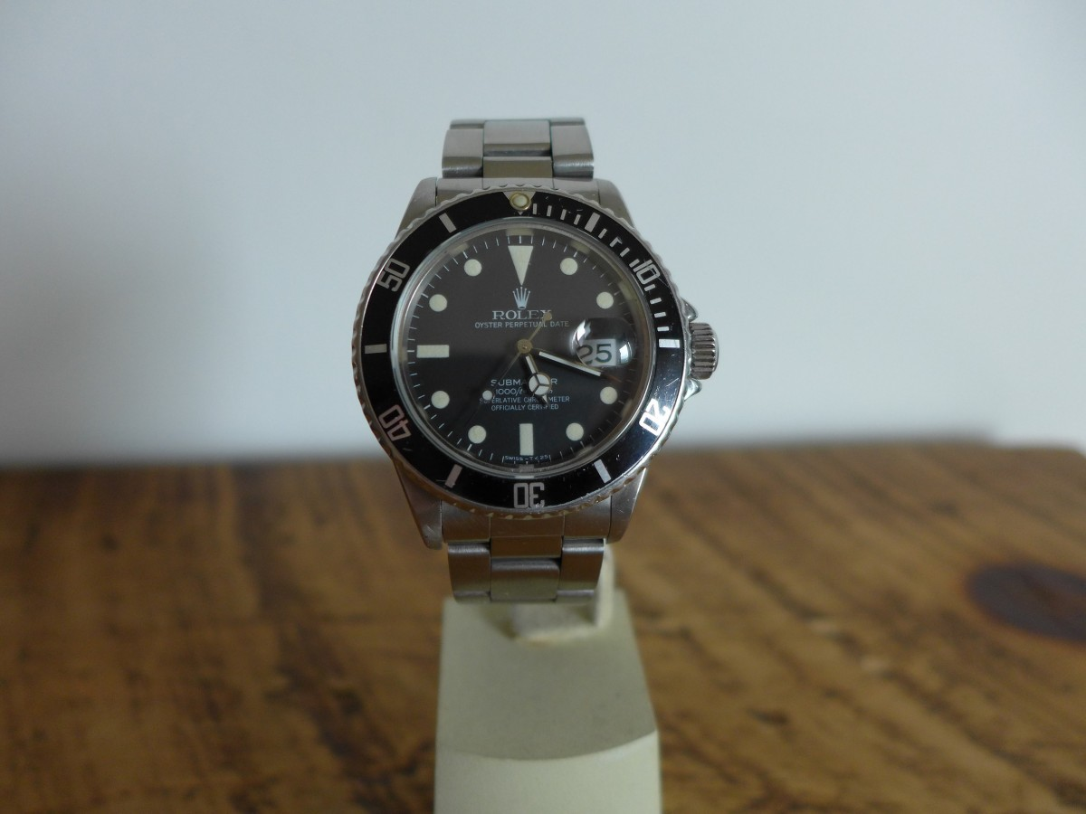 Rolex Submariner 16800 Matt Dial Modern Vintage!