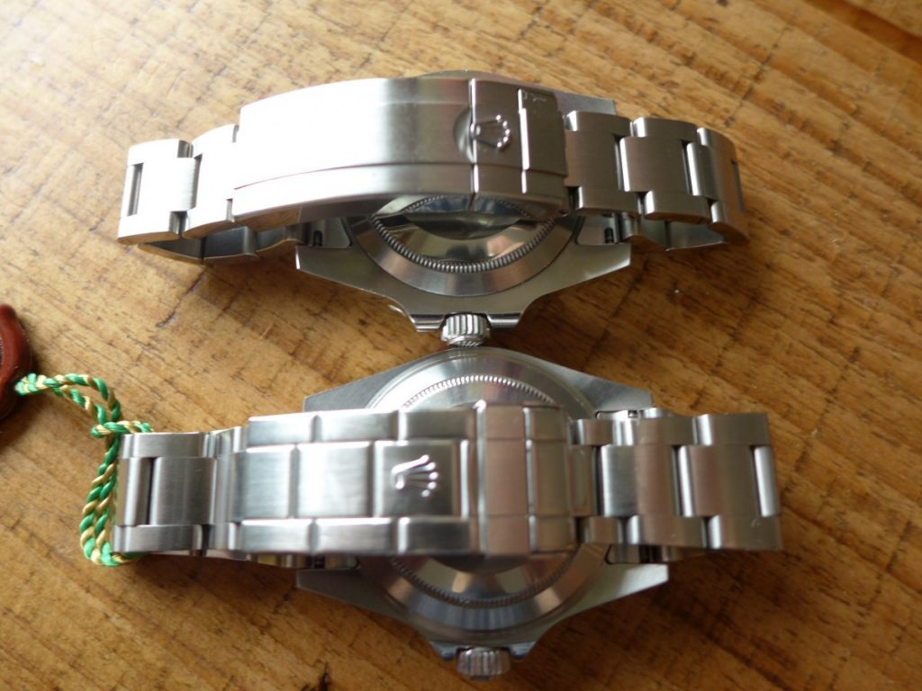 Rolex Oyster glidelock