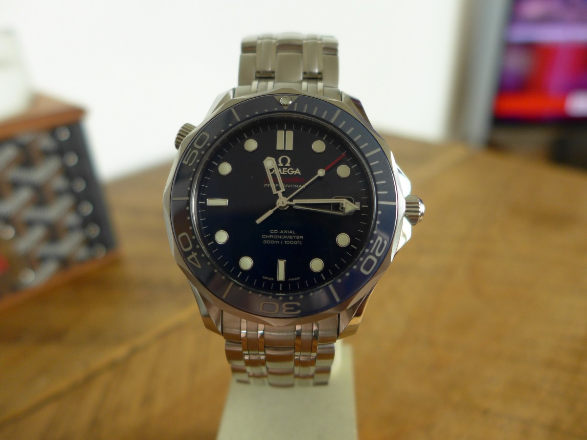 Hands On Omega Seamaster Professional 212.30.41.20.03.001