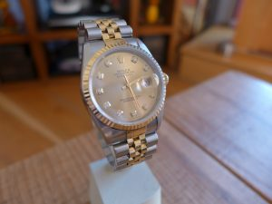 Hands on Rolex Datejust 16233 Diamond Dial